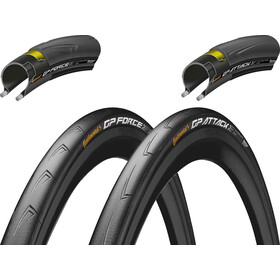 "Continental Grand Prix Attack & Force III Set Opona Vectran Breaker 28"" składane"